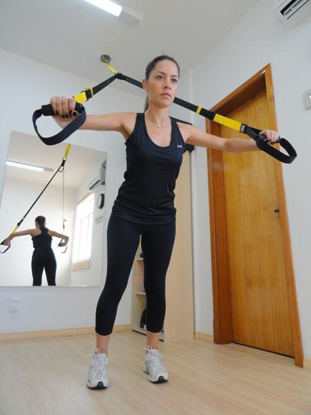 Exercício com TRX