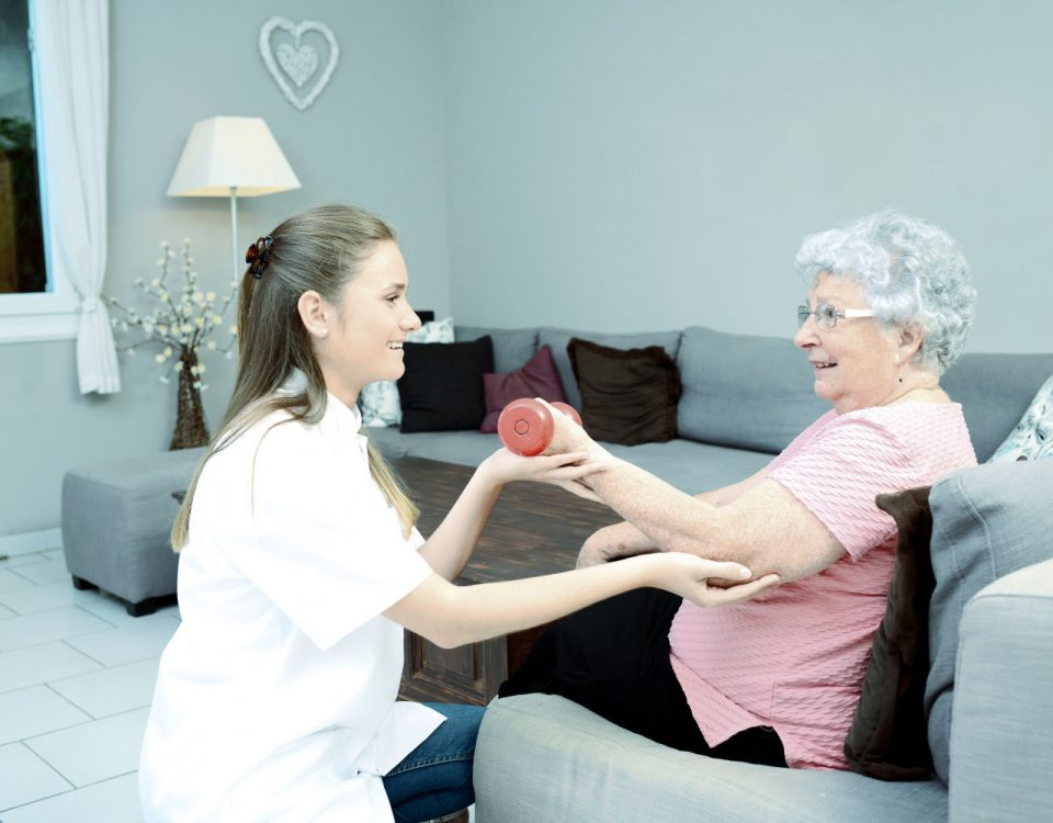 Fisioterapia domiciliar para idosos
